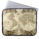 Mapa del mundo 1708 de Jean Baptiste Nolin Funda Computadora