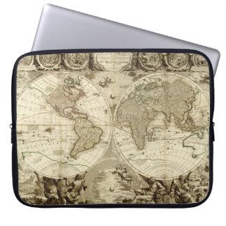 Mapa del mundo 1708 de Jean Baptiste Nolin Fundas Computadoras