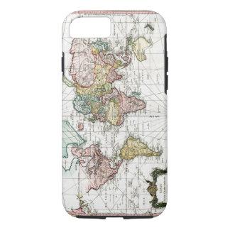Mapa del mundo 1748 funda iPhone 7