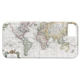 Mapa del mundo 1748 iPhone 5 carcasa