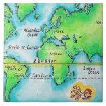 Mapa del mundo 19 tejas