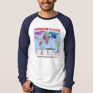 Mapa del mundo 2,1 playera