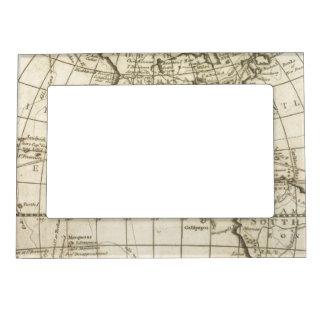Mapa del mundo 2 2 marcos magneticos para fotos