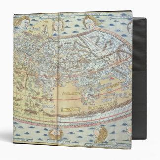 """Mapa del mundo 2 carpeta 1 1/2"""""""