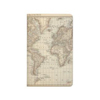 Mapa del mundo 2 cuaderno