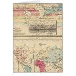Mapa del mundo 2 felicitaciones