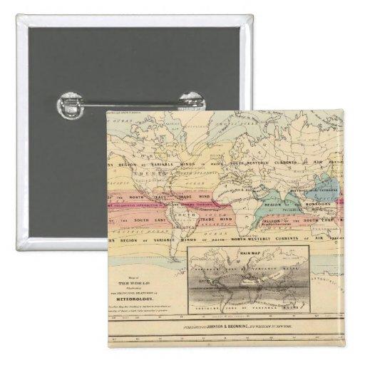 Mapa del mundo 2 pin