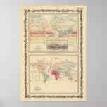 Mapa del mundo 2 posters