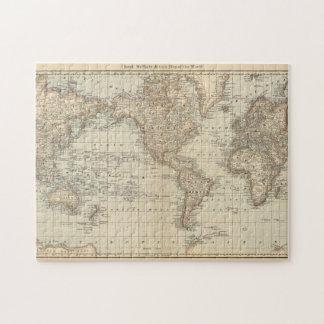Mapa del mundo 2 puzzle