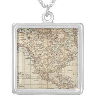 Mapa del mundo 3 collar