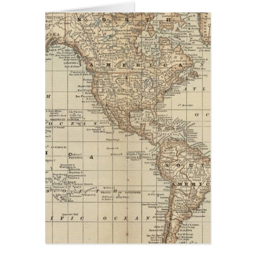 Mapa del mundo 3 tarjeta