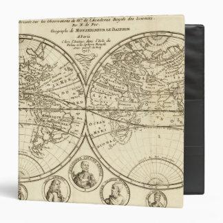 """Mapa del mundo 4 carpeta 1 1/2"""""""