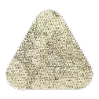 Mapa del mundo 5 altavoz bluetooth