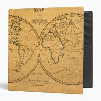 """Mapa del mundo 5 carpeta 1 1/2"""""""