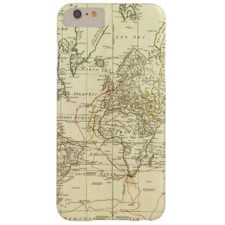 Mapa del mundo 5 funda barely there iPhone 6 plus