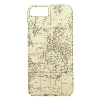 Mapa del mundo 5 funda iPhone 7