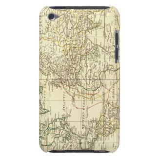 Mapa del mundo 5 funda para iPod de barely there