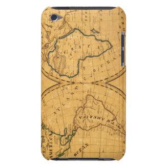 Mapa del mundo 5 iPod Case-Mate protector