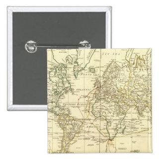 Mapa del mundo 5 pins