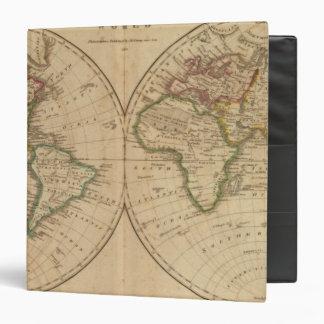"""Mapa del mundo 7 carpeta 1 1/2"""""""