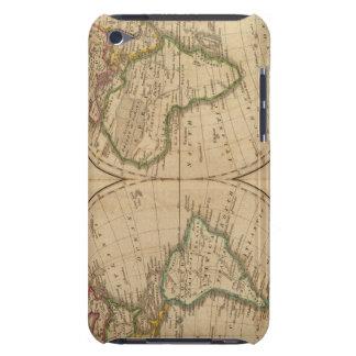 Mapa del mundo 7 Case-Mate iPod touch protectores