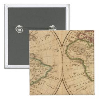 Mapa del mundo 7 pins