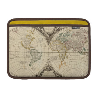 Mapa del mundo 8 fundas para macbook air