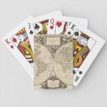 Mapa del mundo 9 cartas de póquer