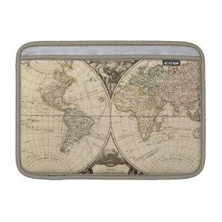 Mapa del mundo 9 funda macbook air