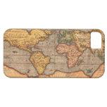 Mapa del mundo a partir de 1601 iPhone 5 Case-Mate carcasas