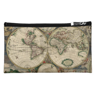 Mapa del mundo a partir de 1689