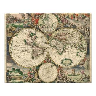Mapa del mundo a partir de 1689 fotografías