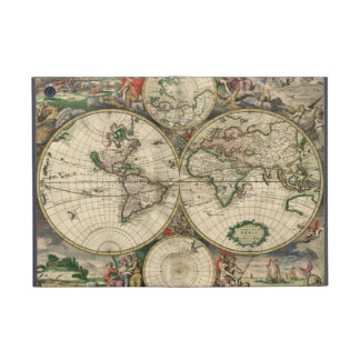 Mapa del mundo a partir de 1689 iPad mini protector