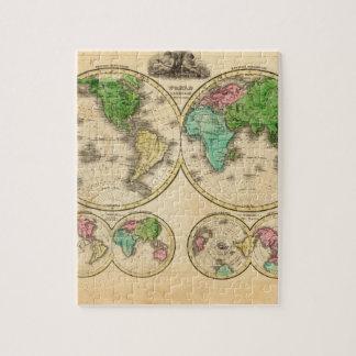 Mapa del mundo antiguo 4 puzzle