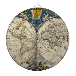 Mapa del mundo antiguo - Blaeu, Joan 1664