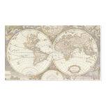 Mapa del mundo antiguo, C. 1680. Por Frederick de