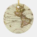 Mapa del mundo antiguo, C. 1680. Por Frederick de  Ornamente De Reyes