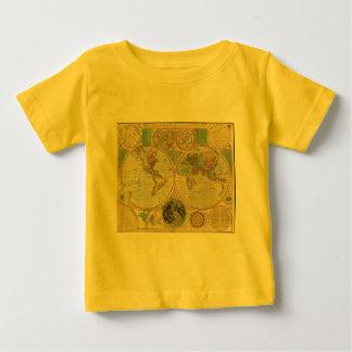 Mapa del mundo antiguo de Carington Bowles, circa Camisas