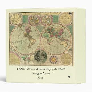 Mapa del mundo antiguo de Carington Bowles, circa