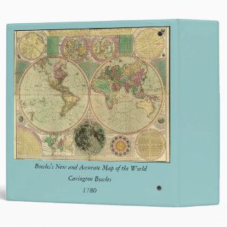 "Mapa del mundo antiguo de Carington Bowles, circa Carpeta 2"""