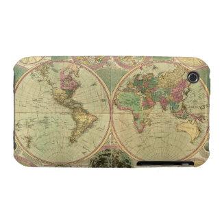 Mapa del mundo antiguo de Carington Bowles, circa iPhone 3 Cobertura