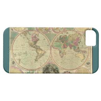 Mapa del mundo antiguo de Carington Bowles, circa iPhone 5 Fundas