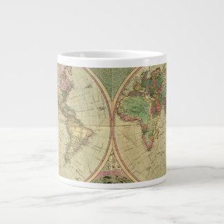 Mapa del mundo antiguo de Carington Bowles, circa Taza Grande
