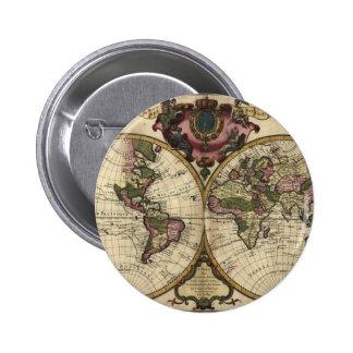Mapa del mundo antiguo de Guillaume de L Isle 172 Pins