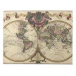 Mapa del mundo antiguo de Guillaume de L'Isle, 172 Bloc De Notas