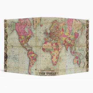 "Mapa del mundo antiguo de Juan Colton, circa 1854 Carpeta 2"""