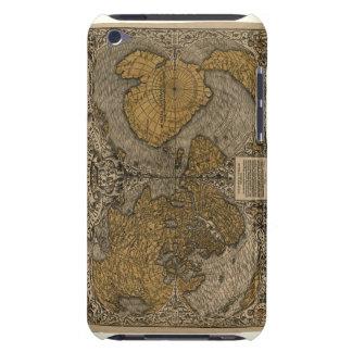 Mapa del mundo antiguo de la obra clásica 1531 por Case-Mate iPod touch cobertura
