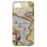 Mapa del mundo antiguo de las Américas, 1570 iPhone 5 Carcasa