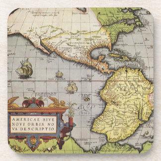 Mapa del mundo antiguo de las Américas, 1570 Posavaso