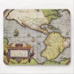 Mapa del mundo antiguo de las Américas, 1570 Alfombrilla De Raton
